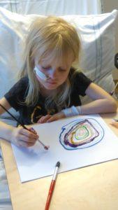 Många teckningar har skapats i Umeå...